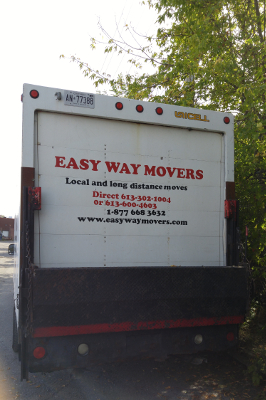 Easy Way Movers Truck